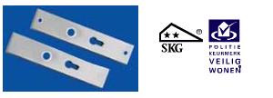 Aluminium-deurbeslag